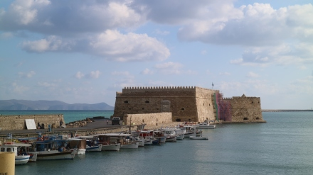 heraklion venetian fortress