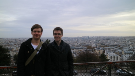 hamish and callum in paris