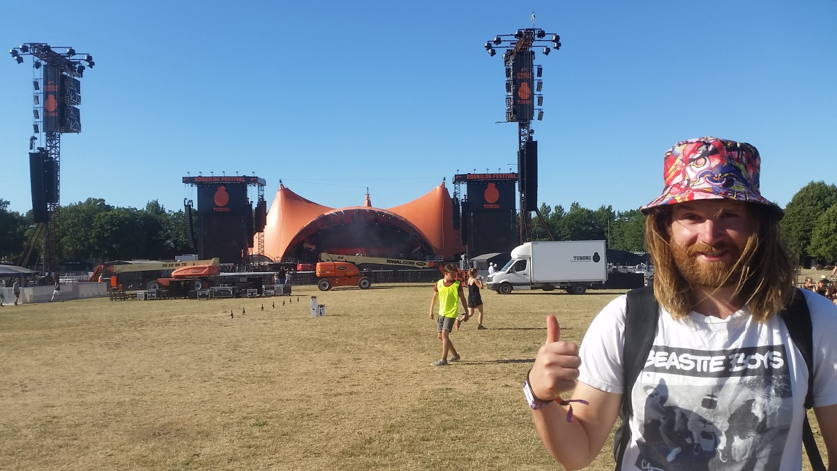 Volunteering at Roskilde Festival 2018